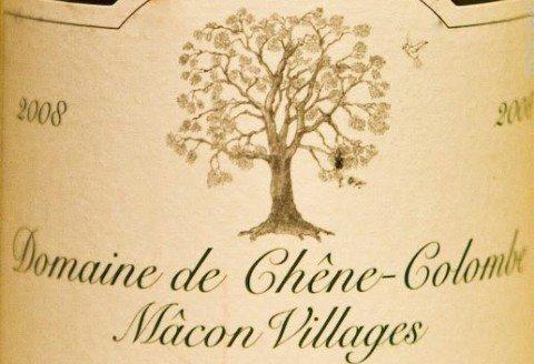 DOMAINE DE CHENE COLOMBE MACON VILLAGE BURGUNDY FRANCE